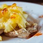 Рыба с ананасами и сыром — Рецепт
