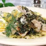 Тушеная рыба — Рецепт