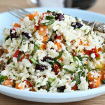 Греческий салат из брокколи — Рецепт