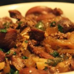Куриные желудки — Рецепт