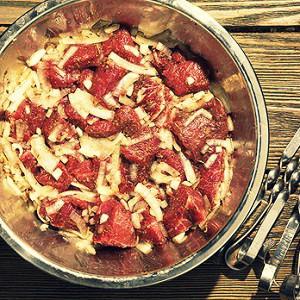 рецепт шашлыка из ребер баранины #14