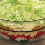 Салат «Триколоре» — Рецепт