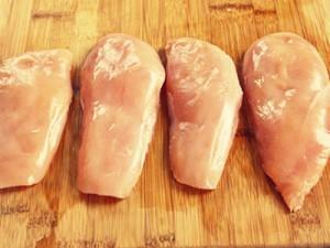 Куриные грудки по-французски