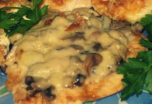 Рецепты из куриной грудки и грибов