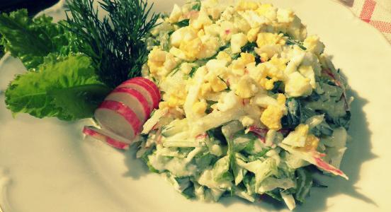 Весна салаты и рецептами