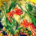 """Салат """"Золотые рыбки"""""""