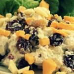 Салат из индейки с курагой — Рецепт