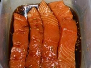 рыба маринуем