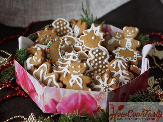 Рецепты на Рождество: печем имбирное печенье