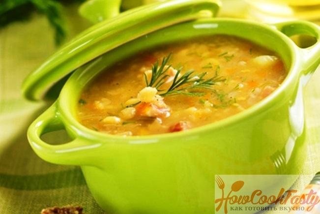 Приготовление традиционного горохового супа