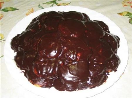"Торт ""Черепаха"" со сметаной"