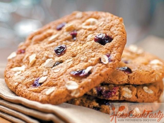 Как приготовить овсяное печенье