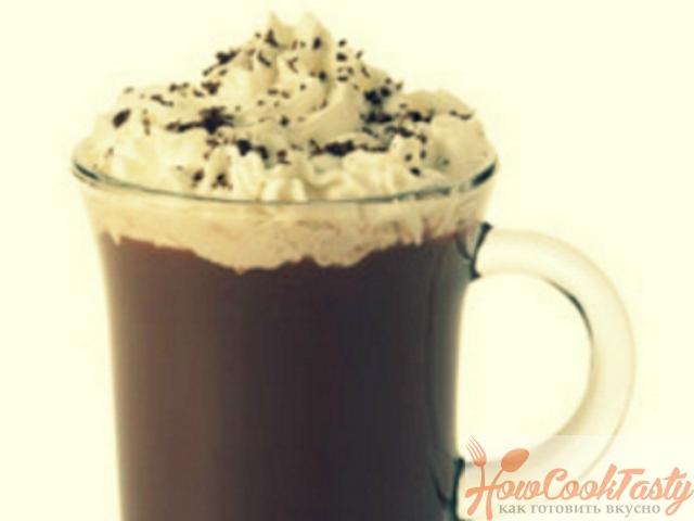 Холодный шоколад с кофе
