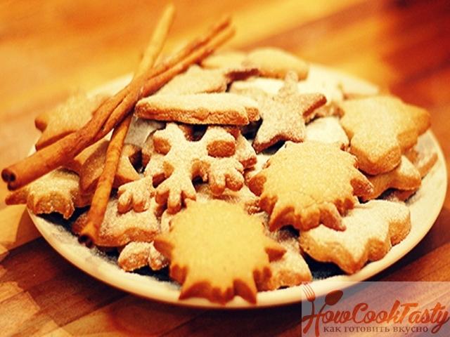Печенье с корицей и апельсином