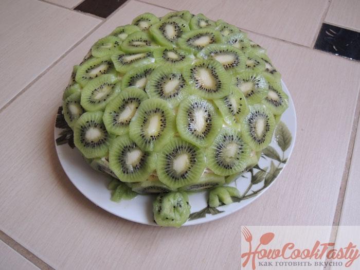 Торт «Изумрудная черепаха»