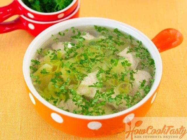 Картофельный суп с индейкой