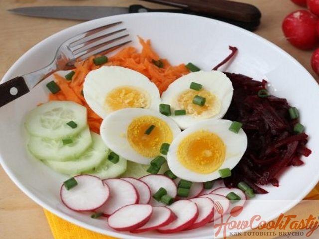 Рецепт утреннего салата