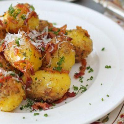 Картофель с пармезаном