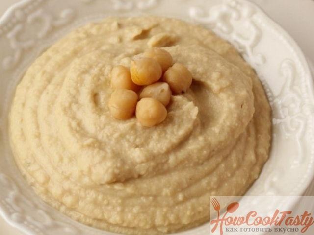 Хумус из нута: классический рецепт пасты с фото