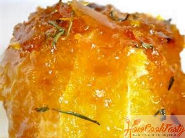 Апельсины в карамельном соусе