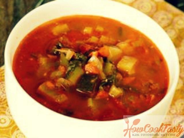 Прованский овощной суп