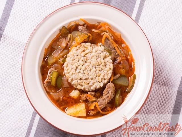 Суп рассольник рецепт классический с фото пошагово 2