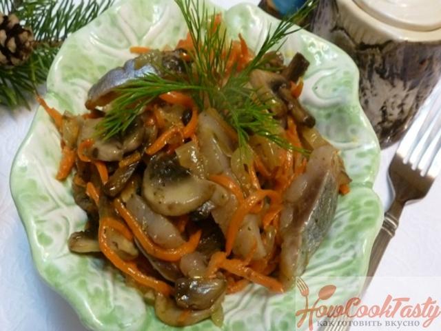 Как приготовить салат с селедочкой