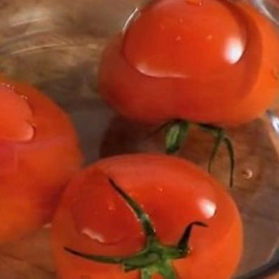 ошпаренные томаты