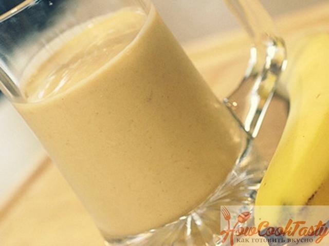 Коктейль с арахисовым маслом