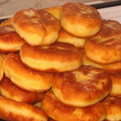 Пирожки с картошкой, рецепт