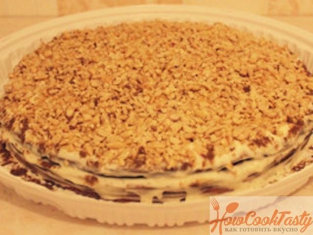 Торт «Сметанник» классический пошаговый рецепт с фото 2