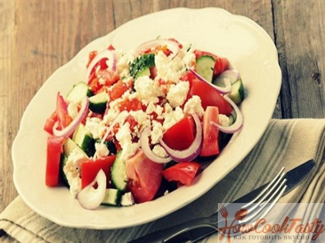 Салат по-шопски