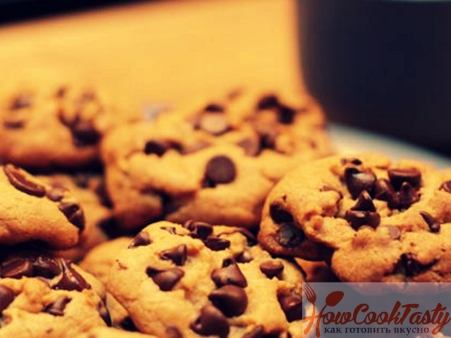 Американское печенье с шоколадной крошкой