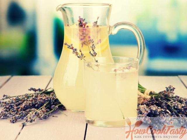 Лавандовый лимонад — Рецепт