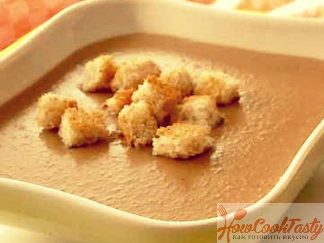 Фасолевый суп-пюре — Рецепт