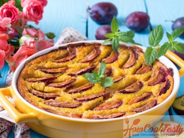 Низкокалорийный десерт из ячневой каши