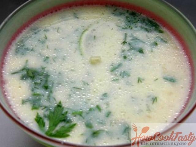 Греческий суп «Авголемоно» — Рецепт