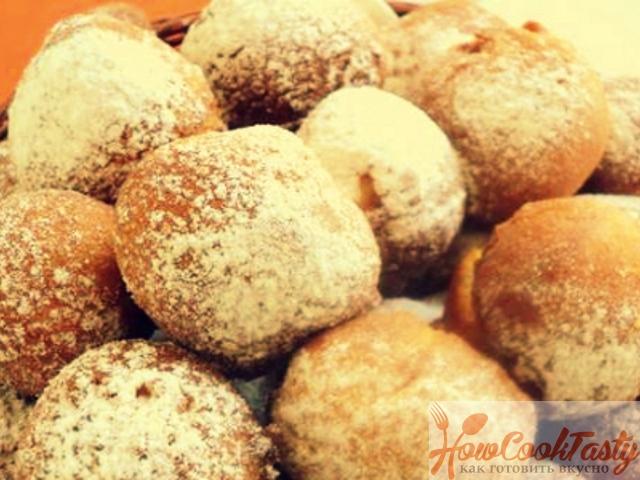 Пончики на сгущенном молоке — Рецепт