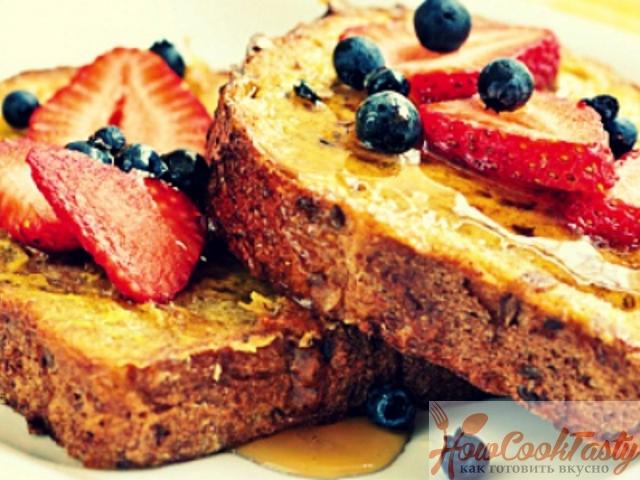 Французские гренки — Рецепт