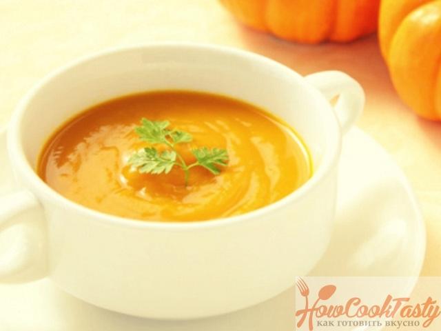 Суп из тыквы — Рецепт