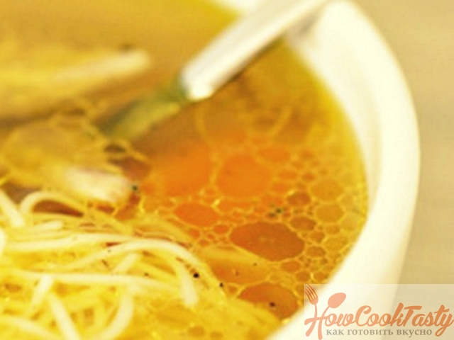 Куриный суп в мультиварке — Рецепт