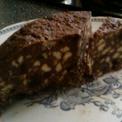 Торт Сникерс без выпечки