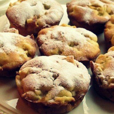 Яблочные пышки - Рецепт