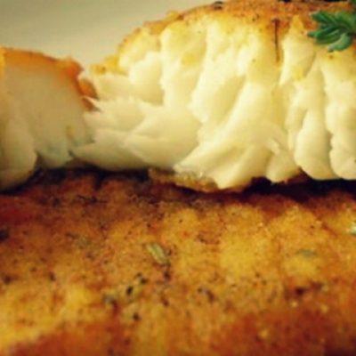 Золотистая рыба в кляре