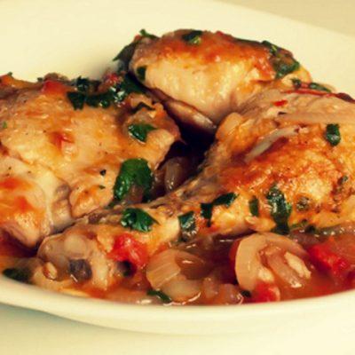 Чахохбили из цыпленка - Рецепт