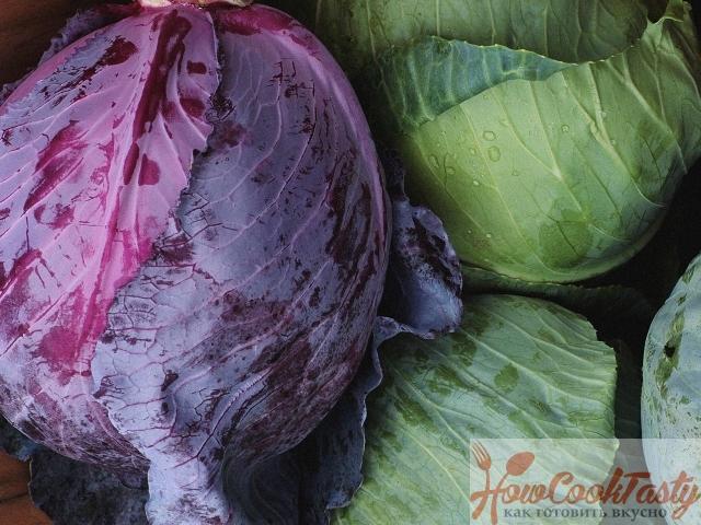 Салат из капусты «Коул Слоу»