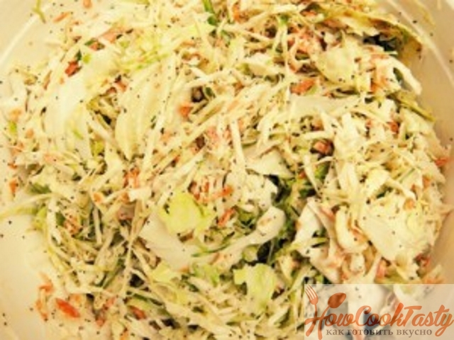 Салат «Коул Слоу» классический рецепт с фото