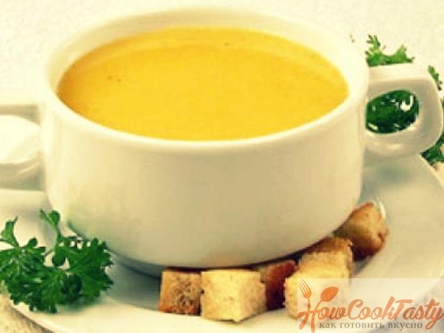 Тыквенный суп Амаретти — Рецепт
