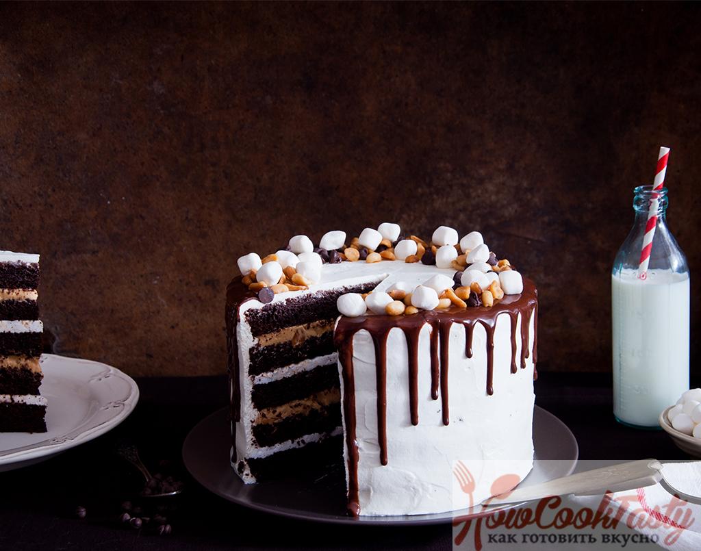 Торт Сникерс. Рецепты торта Сникерс с пошаговой инструкцией