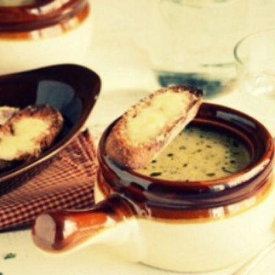 Луковый суп по рецепту 1913 года